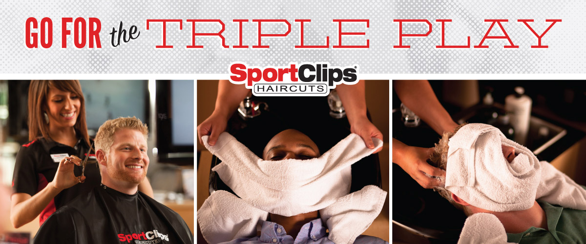 The Sport Clips Haircuts of Villages of Blaine  Triple Play